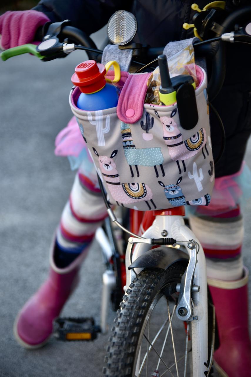 Lenkertasche fürs Kinderfahrrad – Næhbenschauplatz